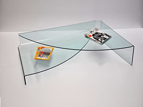 Tavolini da salotto in vetro curvato | Showroomdelserramento