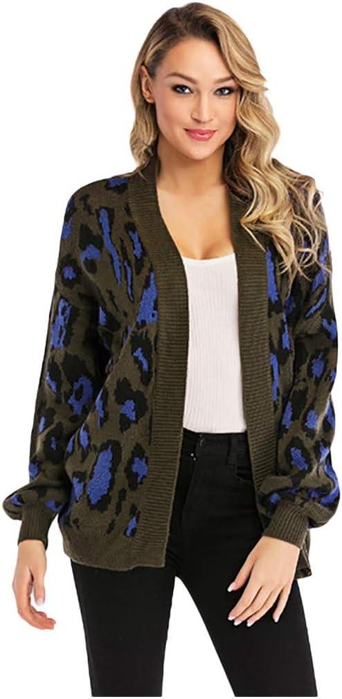 Womens Ladies Knitted Jackets Cardigan Sweater Woollen Coat Loose Long Oterwear