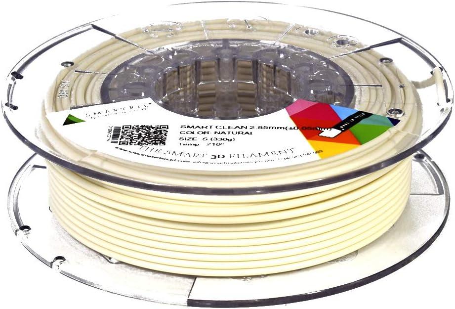 Smartfil CLEAN, 1.75mm, Natural, 330g Filamento para Impresión 3D ...