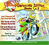 Geronimo Stilton, Books 1-3 (Geronimo Stilton (2 in 1 Audio))