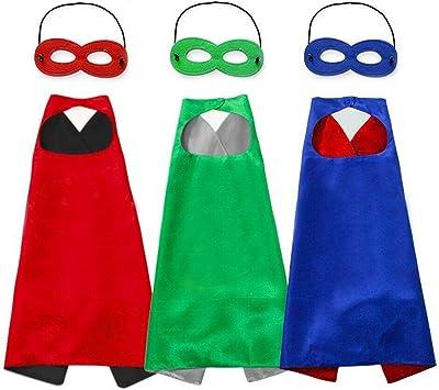 Capa y Máscaras para Fiesta cumpleaños Navidad Escolares ...