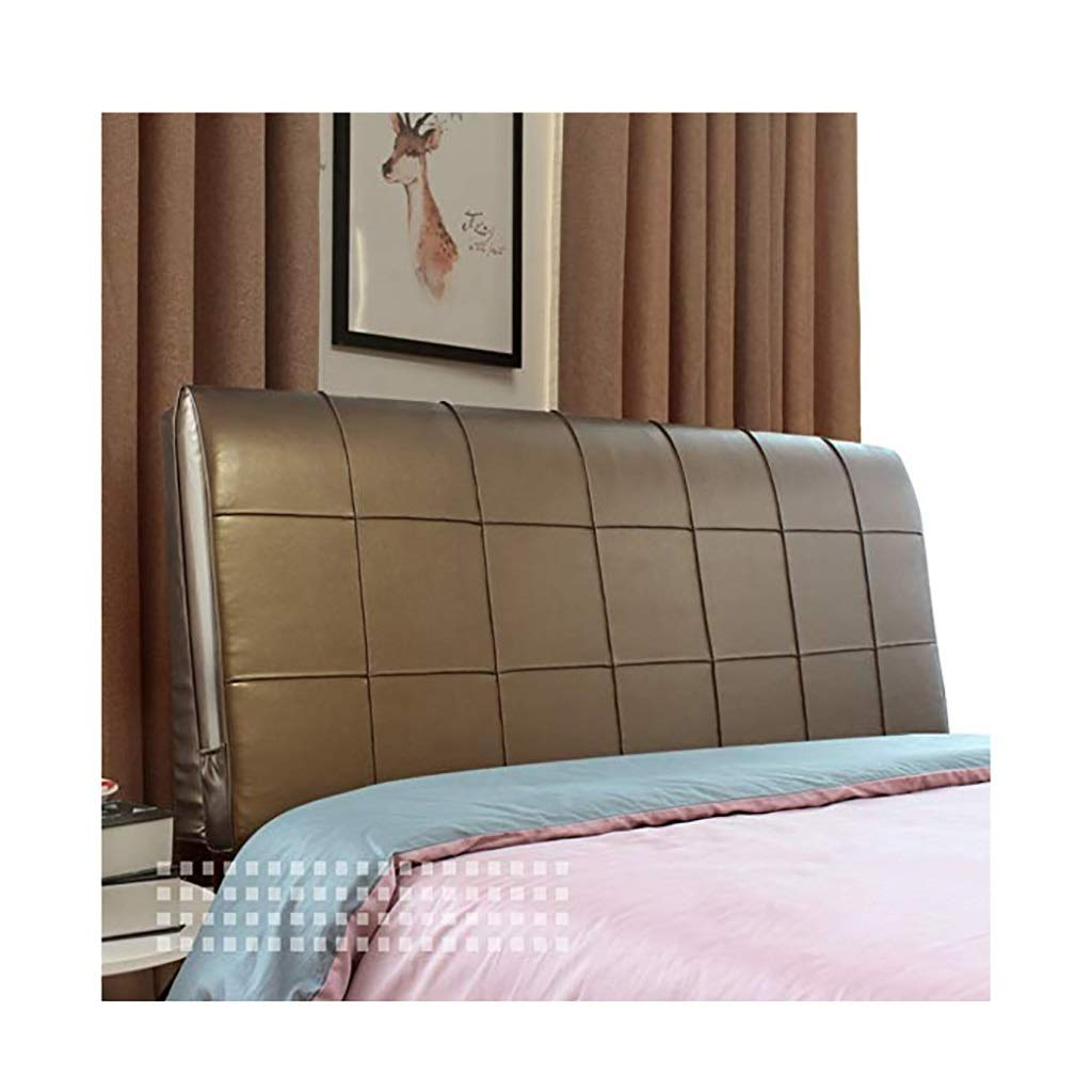 YANFEI Headboard Cushion Bed for Bed Bed Cushion Pallet Pad Bed Softcase Easy to Clean, 5 Colors, 7 Sizes (Color : with headboard-200cm, Size : B)