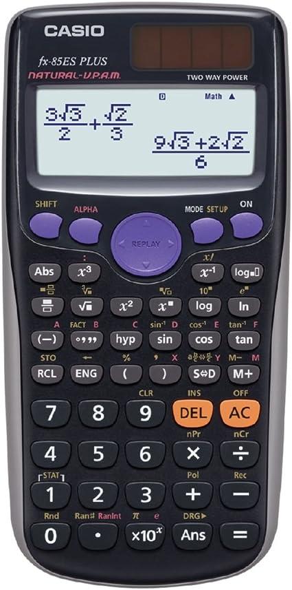 Taschenrechner Pocket Calculator CASIO fx-85es solar ~2017...