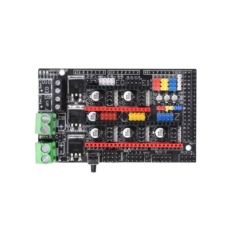 5PCS Compatible DRV8825 Stepper StepStick Motor Diver Module with Heat Sink for 3D Printer Controller Rrerap Ramps 1.5 1.6