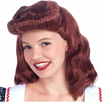 40s Lady Wig Costume Accessory