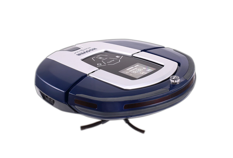 Hoover RBC 030 RBC030-Robot Aspirador, Minutos de autonomía, 7 programas, Color Glamour, 24 W, 0.5 litros, 24 Decibeles, Azul: Hoover: Amazon.es: Hogar