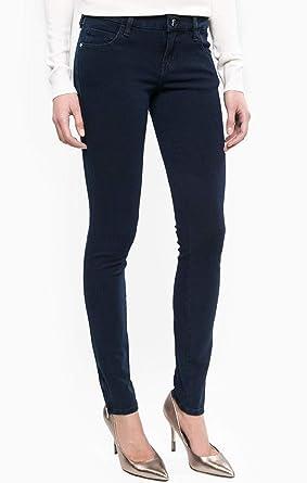 Guess Jean Slim Femme Marylin 3 Zip Bleu Indigo - Taille - W32 l29 ... b9f768c1eca