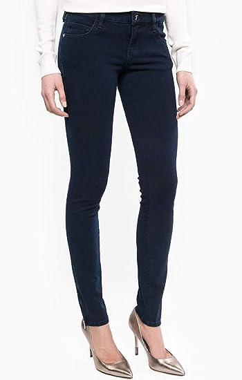 Guess Jean Slim Femme Marylin 3 Zip Bleu Indigo - Taille - W32 l29 ... 6926f0bd1d0e