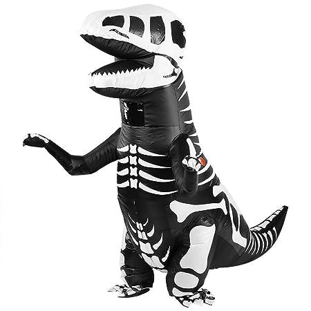 Zerodis Disfraz hinchable para disfraz de dinosaurio y ...