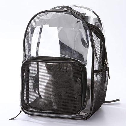 Bolsa para Gatos Mochila para Mascotas Gato Perro Mochila Transparente Universal Bolsa De Viaje Bolsa para