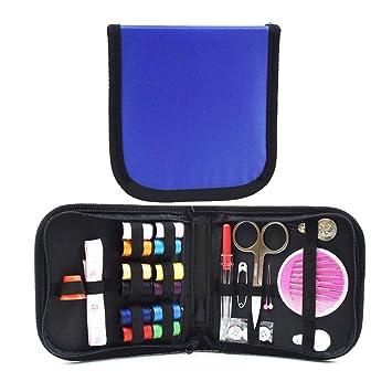 Nähen fnemo Tragbare Mini-Reise-Haushalt Nähen mit Aufbewahrungsbeutel Nähen Box Set Nähen Basteln, Malen & Nähen