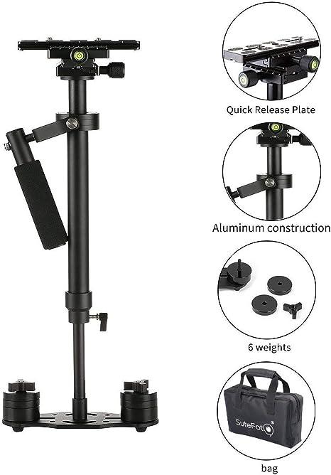 Estabilizador portátil Sutefoto S40 Pro Version para cámara de ...