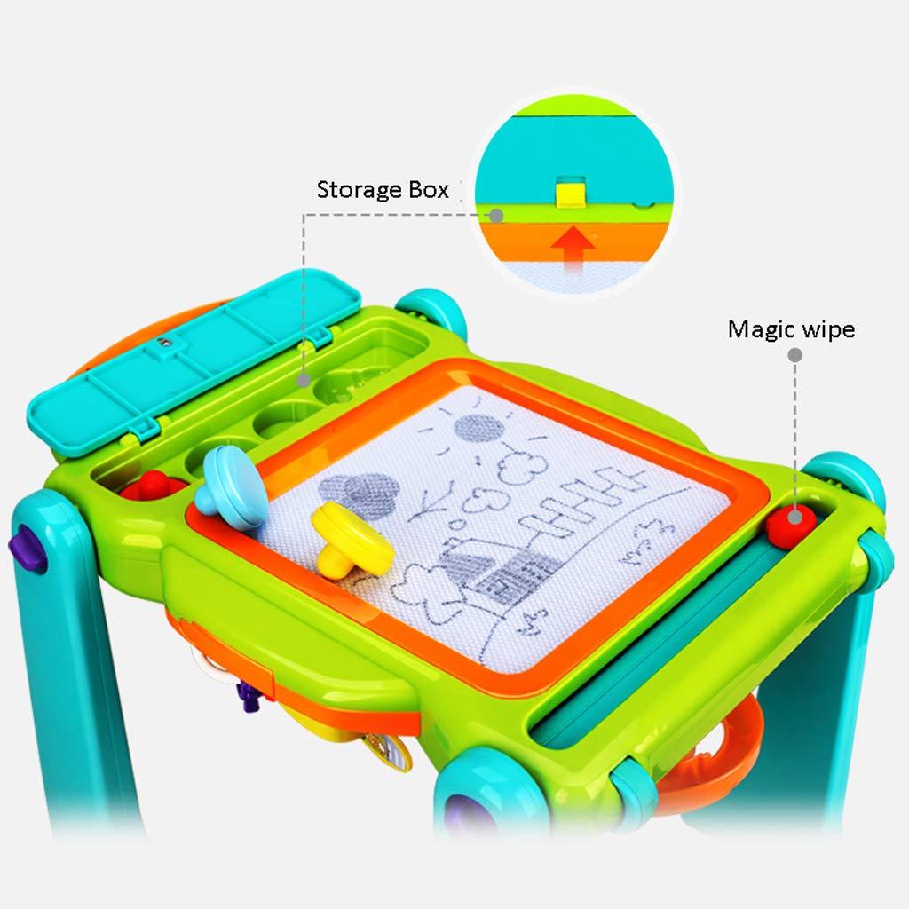 Andador de bebe Baby Walker Trolley Toy Niños Velocidad Ajustable ...