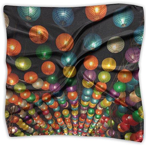 Lampions Lanterns Fashion Women's Classic Printing Scarf Headscarf ()