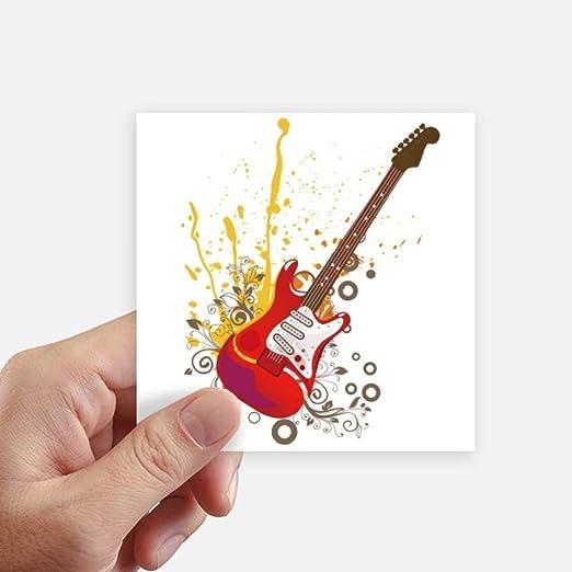 DIYthinker Guitarra eléctrica de la música de Jazz Culture Square ...