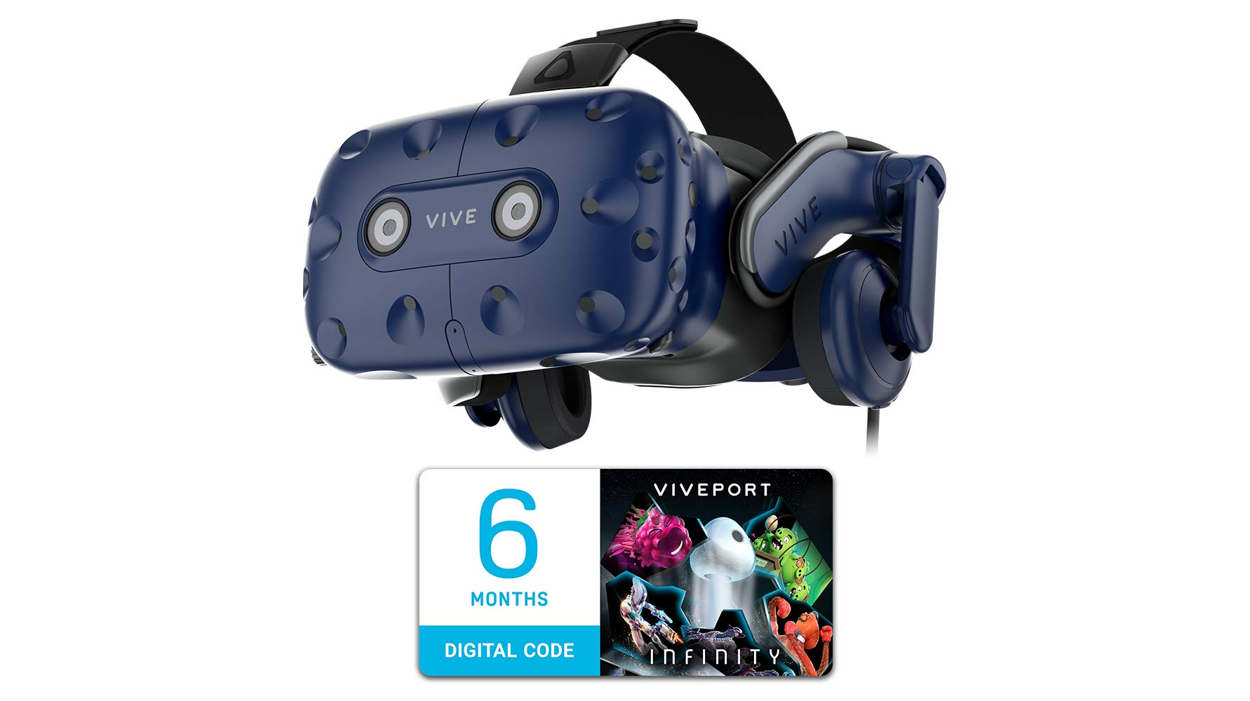 HTC VIVE Pro Virtual Reality Headset Only by HTC
