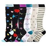 HLTPRO Compression Socks for Women & Men - 6