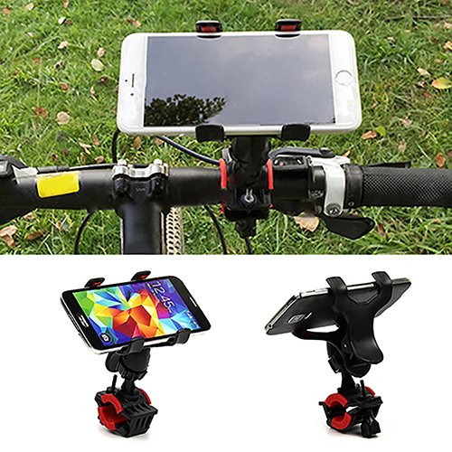 I9100 Cell Phone (Powerfulline Universal Motorcycle MTB Bicycle Handlebar Bike Mount Holder for Cell Phone GPS)