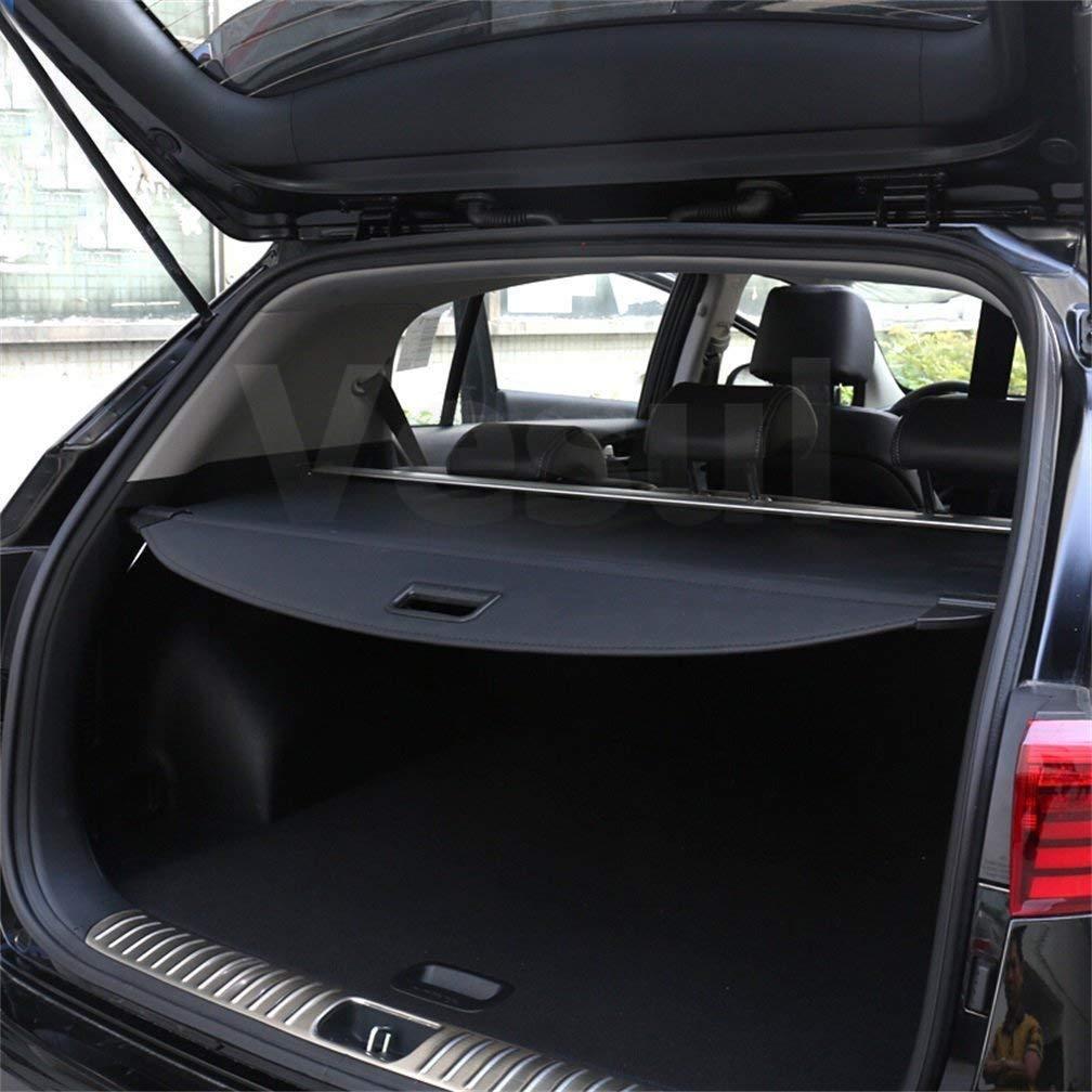 Vesul Black Retractable Rear Trunk Cargo Luggage Security Shade Cover Shield for Kia Sportage 2017 2018 2019 2020
