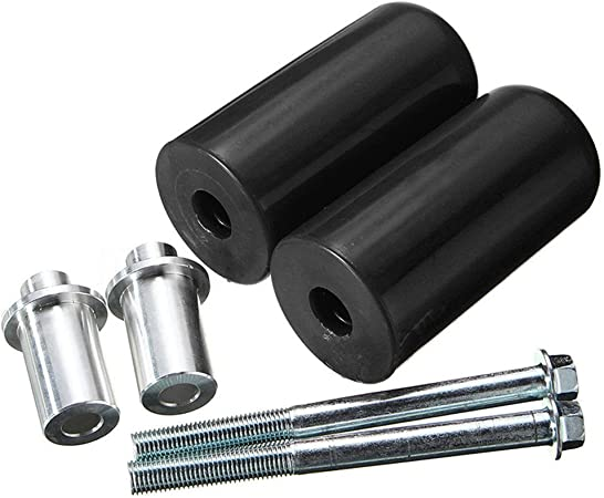 Color : Black Motorcycle Frame Slider 10mm 2pcs Universal Motorcycle Frame Slider Anti Crash Pad Falling Protection For KOTOM For Triumph For Kawasaki Z900 For Yamaha For motorcycles