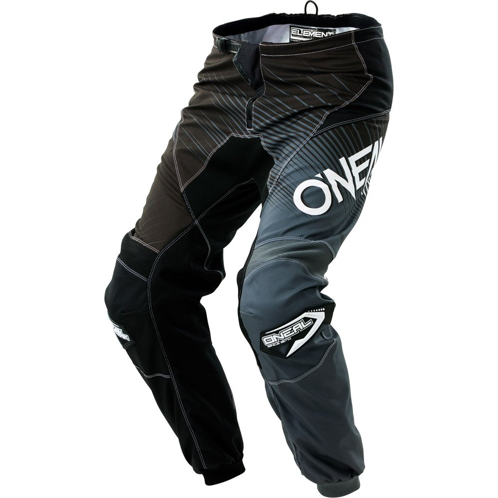 O'Neal Unisex-Adult Element Race wear Pant Black/Gray Size 30