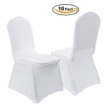 VEEYOO Polyester Spandex Housse De Chaise Pliante Pour Fte Mariage Banquet Salle Manger