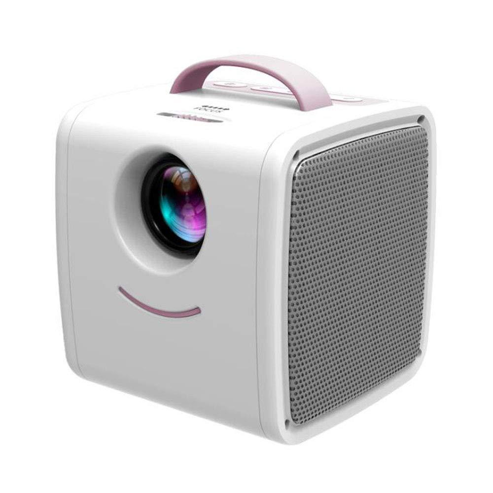 Y&XF Proyector LED Mini Proyector de Bolsillo portátil de Video ...