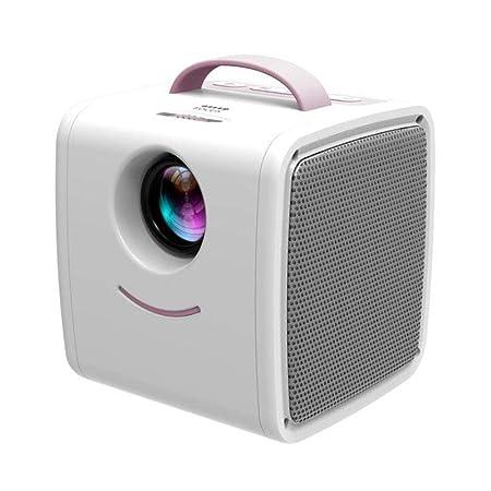 Y&XF Proyector LED Mini Proyector de Bolsillo portátil de ...
