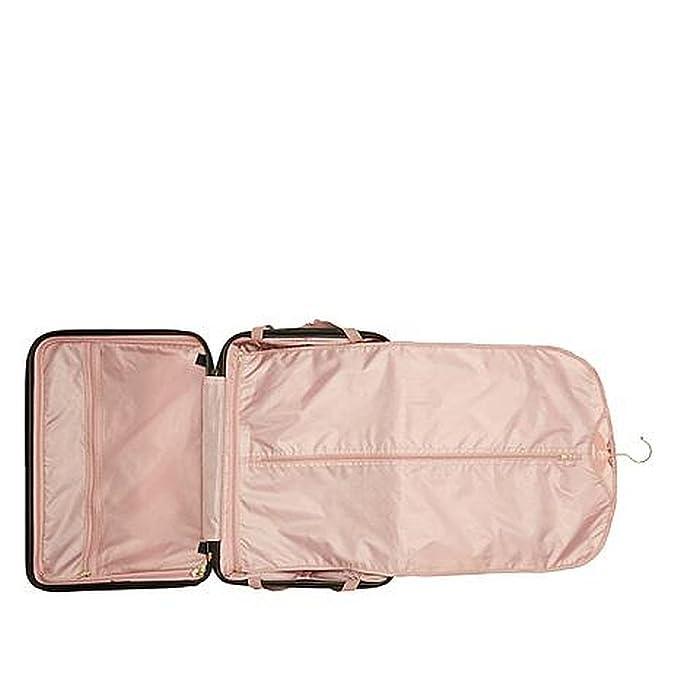 Amazon.com: Joy Mangano metálico Set Elite Hardside equipaje ...