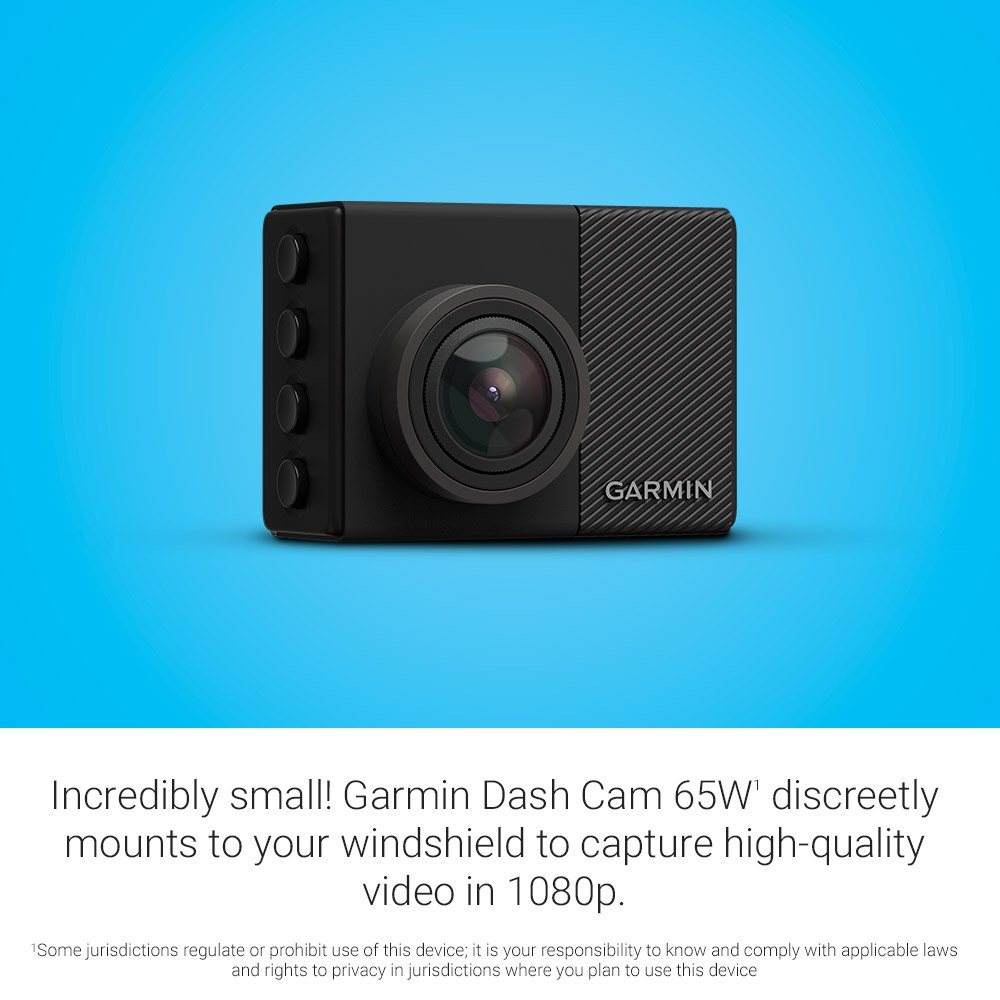 G-Sensor and Driver Alerts 1440p 2.0 LCD Screen Loop Recording Garmin Dash Cam 55 Extremely Small GPS-Enabled Dash Camera with Voice Control Includes Memory Card 1440p 2.0 LCD Screen 010-01750-10