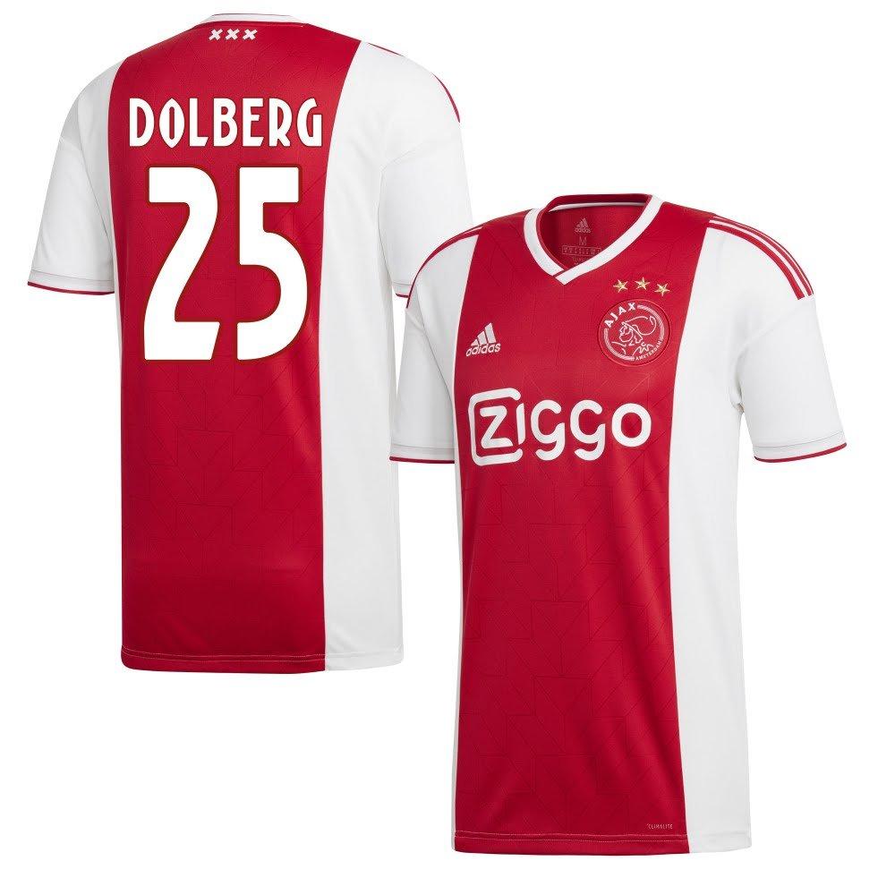 Ajax Home Trikot 2018 2019 + Dolberg 25 (Fan Style)