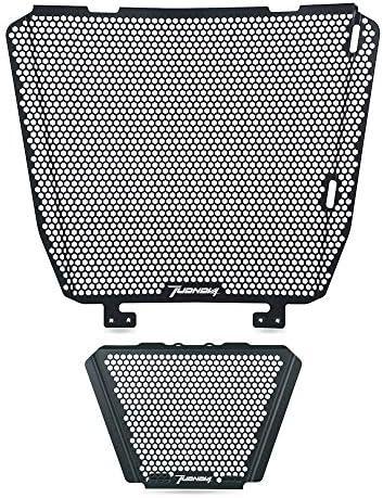 Tuono V4 Motorrad Kühlerabdeckung Aluminiumlegierung Kühlerschutz Öl Kit Schutz Für Aprilia Tuono V4 2011 2014 Tuono V4 1100 Rr 2015 2020 Tuono V4 1100 Factory 2015 2020 Auto