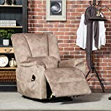 CANMOV Power Lift Recliner Chair for Elderly- Heavy Duty and Safety Motion Reclining Mechanism-Antiskid Fabric Sofa Living Room Chair with Overstuffed Design, Camel