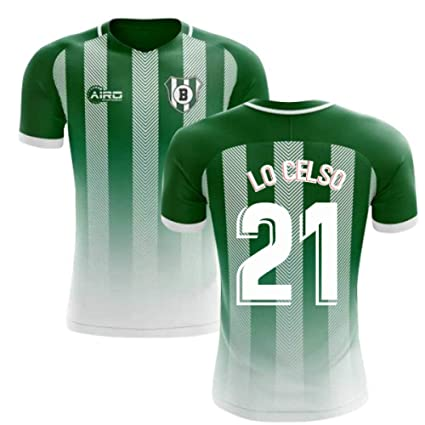 low priced c047e d8a73 Amazon.com : Airosportswear 2019-2020 Real Betis Home ...