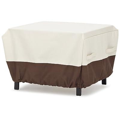 Basics Ottoman Outdoor Patio Furniture Cover : Garden & Outdoor