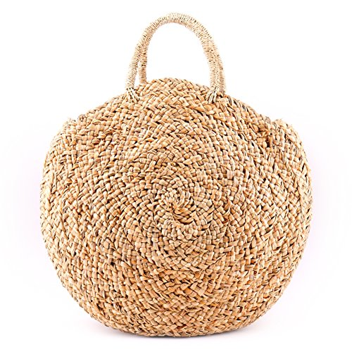 Clutch 100 Rattan Shoulder Quality Round Rumba Bamboo Straw Bag Handbag Woven Beach Purse Straps Hand Island Premium Natural Bag Straw Seven Handwoven Backpack Wicker Bag Leather Bag tWqZHXanx