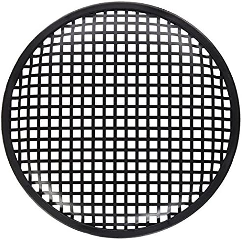American Terminal ATG15 15 Inch Universal Metal Car Audio Speaker Subwoofer Waffle Grill Protector Cover