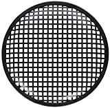 American Terminal ATG8 Universal Metal Car Audio Speaker Subwoofer Waffle Grill Protector Cover, 8''