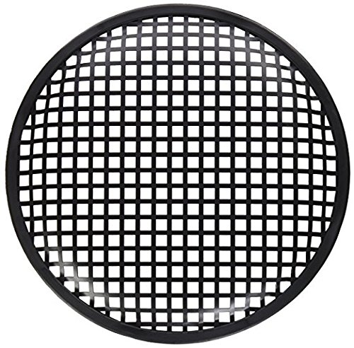 American Terminal ATG215 Pair of 15 Inch Universal Metal Car Audio Speaker Subwoofer Waffle Grill Protector Cover
