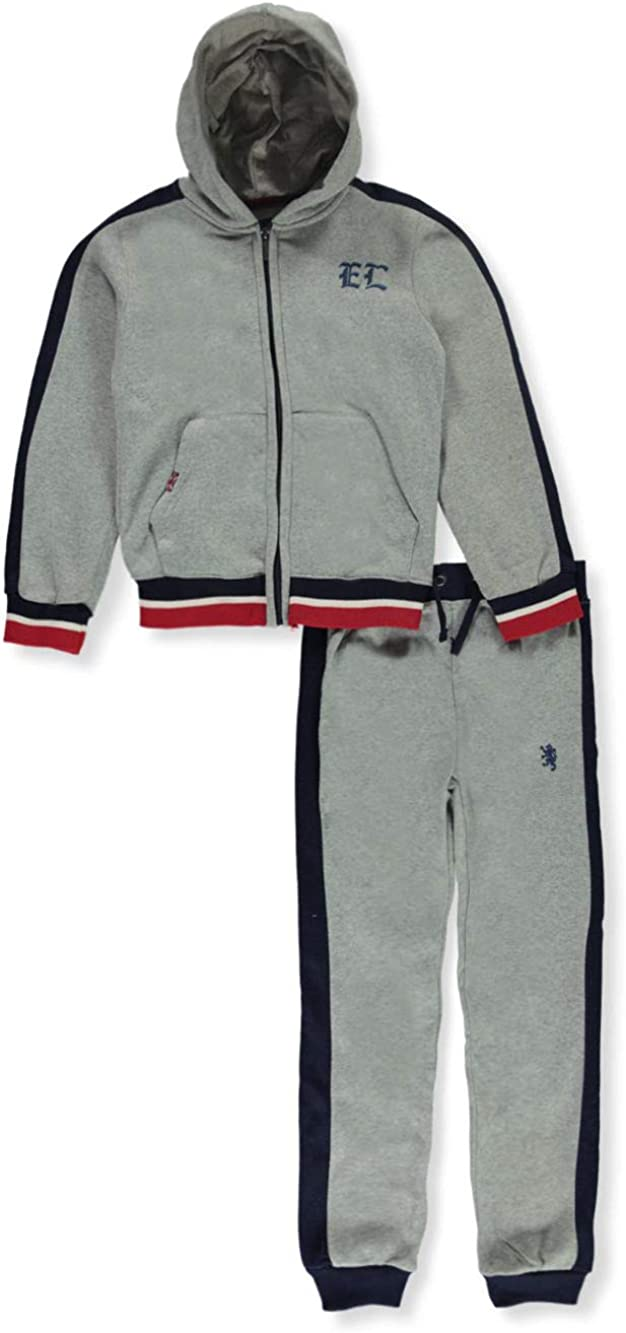 English Laundry Boys EL Logo 2-Piece Sweatsuit Outfit