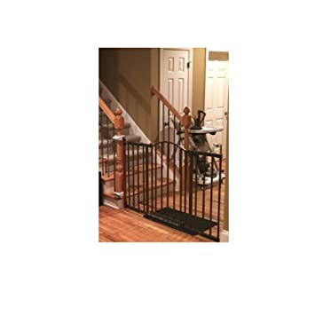 Wide Baby Gate With Easy Open Door Safety Wall Mount Stairs For Baby Pet  Dog U0026