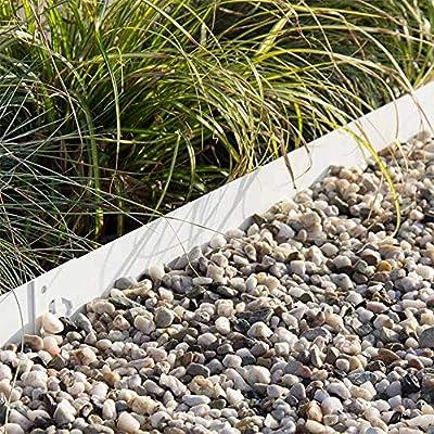 Multi-Edge Bordura metálica Acero Lacado Blanco - Bordes ...