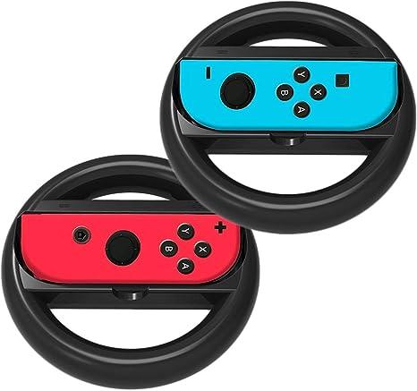 Juego de 2 Volantes de Carreras Joy-con para Nintendo Switch Controller Mario Kart: Amazon.es: Electrónica