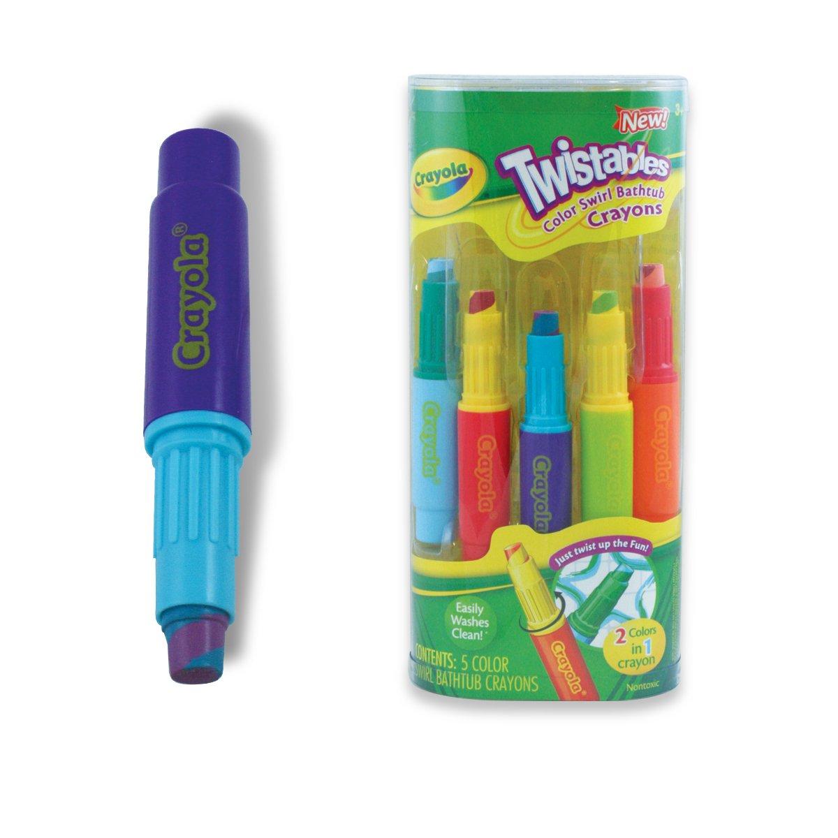 amazoncom play visions color swirl crayons toys games - Crayola Bathroom Crayons