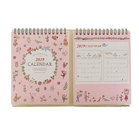 Laideyilan Julio 2018 a diciembre 2019 - Calendario de mesa con ...