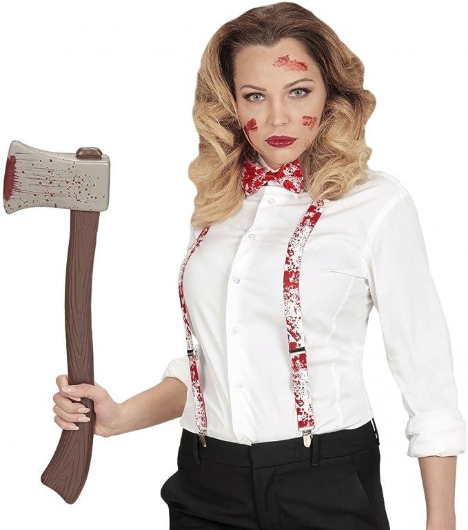 shoperama blutiges Halloween Psicosis Juego Color Blanco/Rojo ...
