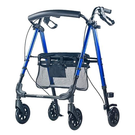 AOUWAF Mobiclinic Andador para Ancianos Ligero Aleación de ...