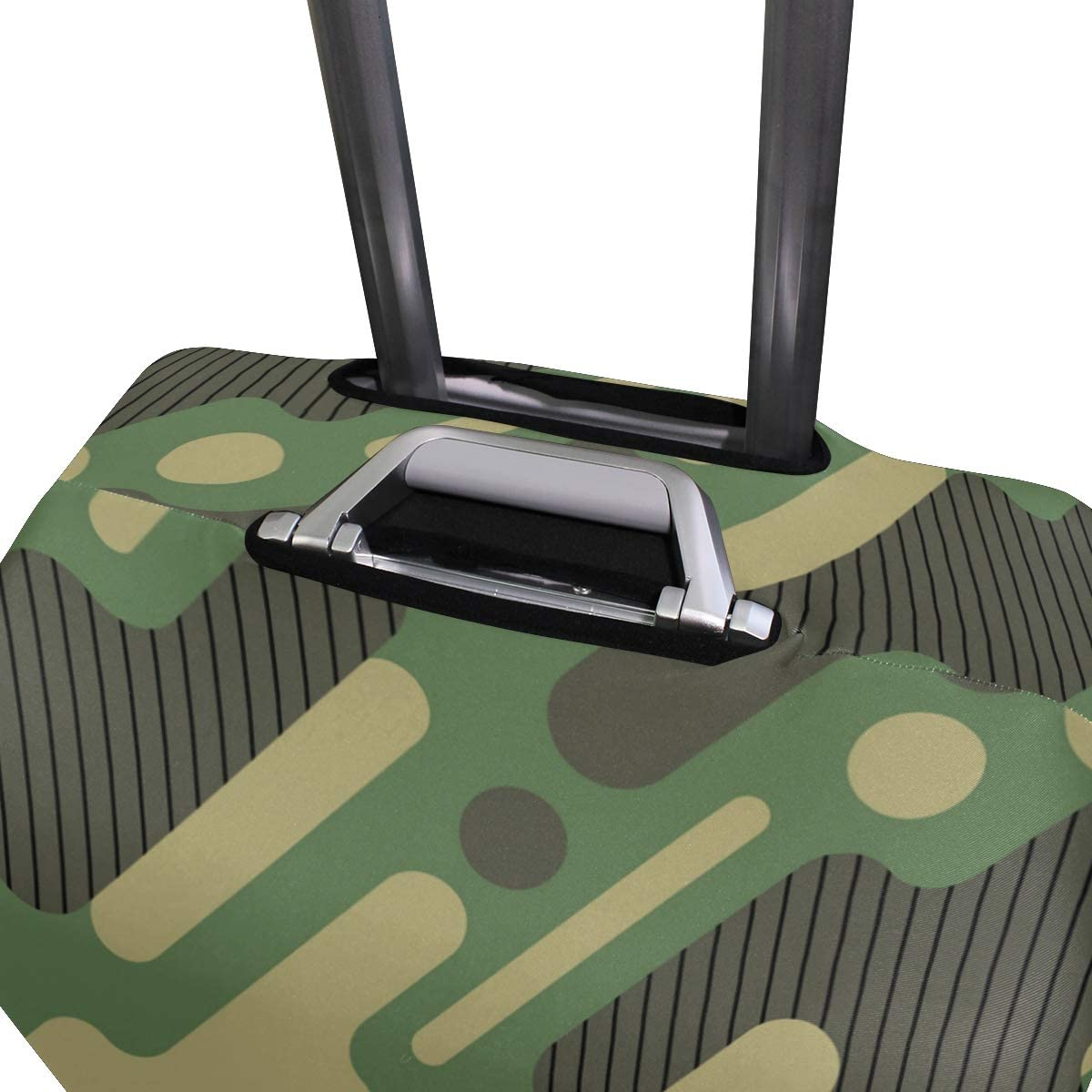 Blue Viper Strip Camouflage Luggage Protective Cover Suitcase Protector Fits 26-28 Inch Luggage
