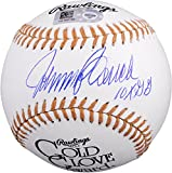 """Johnny Bench Cincinnati Reds Autographed Gold Glove Baseball with """"10X G.G."""" Inscription - Fanatics Authentic Certified"""