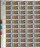 Crime Prevention 1984 20c - Full Sheet of 50 Catalog # 2102 US Postage Stamp